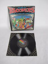"""Kermit Schafers The Best of Bloopers Radio and Television Vinyl Record LP 12"""""""