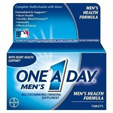 3 Pack - One-A-Day Men's Health Formula Tablets 100 Tablets Each