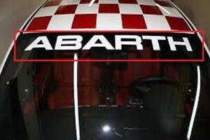 Sticker for Abarth Fiat 500 595 Punto Assetto Corse Scorpion Sport Fiat decal