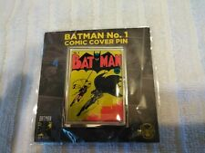 World's Finest The Collection BATMAN EXCLUSIVE Subscription Box Comic Cover Pin