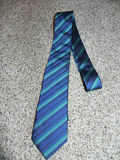 Versa Tie Mens Striped Multi-Color Polyester NWOT