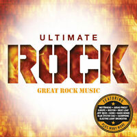 Ultimate Rock 4 CDs Music Alice Cooper David Bowie Fleetwood Mac Meat Loaf +More