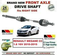 Pour Renault Megane Cc 1.6 16V 2010-2015 1x Tout Neuf Essieu avant Droit Arbre
