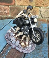 Ride out of Hell Ornament by James Ryman Brand New Boxed Skeleton Biker