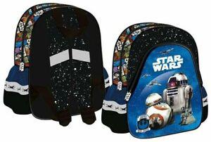 "Disney Star Wars Junior Rucksack blau 10"" Kinderrucksack Freizeitrucksack SWM6"