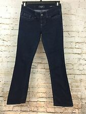 GUESS Women's Blue Daredevil Boot Cut Jean Size 28 (G5#27)