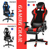 Gaming Racing Chair High Back Computer Office Chair Ergonomic 180 Lying Recliner