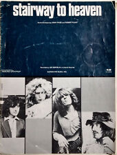 Led Zeppelin - Stairway to Heaven Sheet Music - 12 Page Booklet - 1972