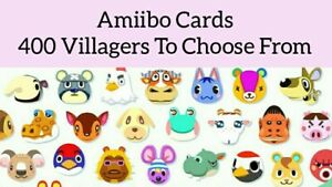 🌸 Animal Crossing New Horizons Amiibo Cards ( ACNH ) Amiibo NFC 🌸🐻