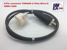 Yamaha Engine Interface Cable Socket 6-pin NMEA 2000 universal