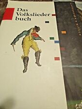 Das Volksleider Buch 1993 HC/DJ Large Size with Inscription German Text