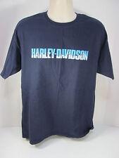 Genuine Harley Davidson Large Blue Eagle Mountain State College Pa T Shirt #11E