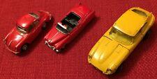 Corgi Juniors Whizzwheels Jaguar E-Type Schuco Roadster Hongwell Porsche Spider