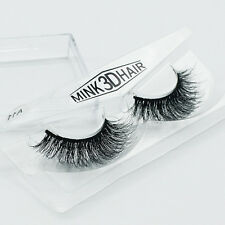 1Pair 3D Lashes Mink Hair Natural Thick False Fake Eyelashes Eye Lashes Handmade