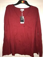 Next Red Cashmere Jumper Size 14 Brand New with Tags