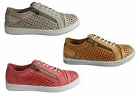 Cabello Comfort Eg17 Womens Leather European Cushioned Casual Shoes - SSA