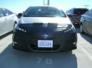 Colgan Front End Mask Bra 2pc.Fits Toyota Prius Prime Plus 17-21 W/OLicen,W/Sens