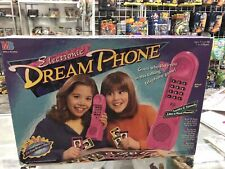 Rare Vintage 1990s ELECTRONIC DREAM PHONE MB Board Game Milton Bradley COMPLETE