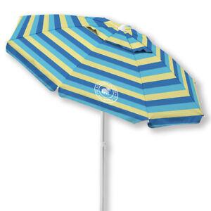 Caribbean Joe 6.5 Ft. Beach Umbrella with UV multiple colors WC