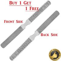 FOUR SIDED Pedicure Foot File Nail Rasp Chiropody Hard Dry Skin Remover NEW - UK