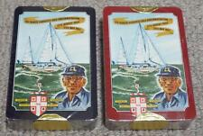 FRANCIS CHICHESTER 1967 SEALED DOUBLE PACK OF WORSHIPFUL COMPANY PLAYING CARDS