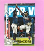 2020 Topps 582 Montgomery Club Foil Stamp #538 Braves New World