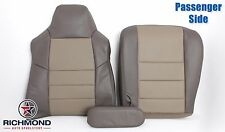 2003 Ford Excursion EDDIE BAUER -Passenger Complete Leather Seat Covers 2-Tone