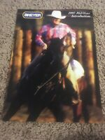 REEVES INTERNATIONAL BREYER HORSE TOY DEALER CATALOGUE MID-YEAR 1997