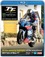 TT 2017 - OFFICIAL REVIEW - ISLE of MAN Tourist Trophy - BLU-RAY Region Free UK