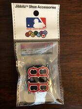 Jibbitz RARE MLB Boston Red Sox Official Merchandise Shoe Charm Crocs Initial B