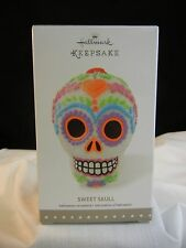 Hallmark Halloween Ornament 2015 Sweet Skull NIB
