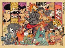 Poster A3 One Piece Luffy Zoro Sanji Nami Usopp Chopper Mugiwaras Nakamas 07