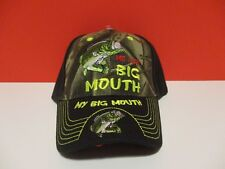 MY BIG MOUTH FISHING HAT ( NEW NEVER WORN) ADJUSTABLE