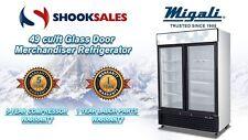 Migali C-49Rm 2 Swing Glass Door Merchandiser Cooler To Commercial Address