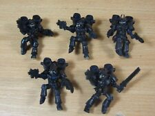 5 FORGEWORLD NIGHT LORDS RAPTORS PAINTED (1533)