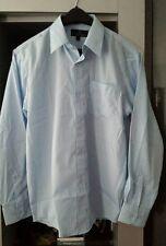 Boys Youth Vittorino Sky Blue Longsleeve Shirt sz L(14-16) New