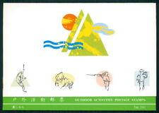 La Chine Taiwan Formose Presentation Pack 1991 Outdoor Fishing Bird Rare! h2275