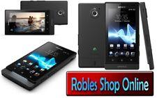 Sony Xperia Sola MT27i Black (Ohne Simlock) 3G WLAN GPS 5,0MP RADIO OVP Akzeptab
