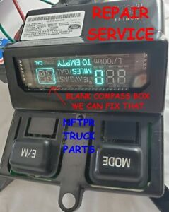 FORD SUPERDUTY F250 F350 F450 OVERHEAD CONSOLE COMPUTER REPAIR SERVICE CAL LIGHT