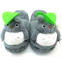 Anime Totoro Winter Slippers Soft Bottom Plush Home Shoes Cartoon Indoor Sandals