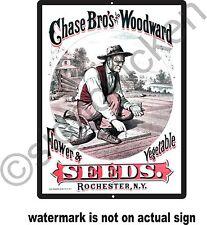 VINTAGE SEED, FARM ADVERTISEMENT, REPRODUCTION, SIGN DECOR, RETRO, GARDENING