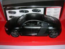 Maisto Audi R8 Nero Opaco nero Opaco nero Serie 1:24 Tipo 31281