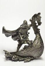 Tin soldier, figure. Viking on the Drakkar, 750 54 mm