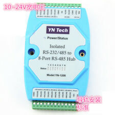 YN1208 isolated bidirectional 8 channel eight port RS485 hub hub repeater