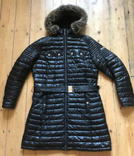 Womens Ladies Barbour Endo Baffle Quilted Padded Jacket Coat Size 14 Fibre down