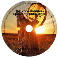 SHAMANIC DRUMS CD - RELAXATION MEDITATION DRUMMING SLEEP SPA CALM NATURAL SOUNDS