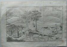 Chile de Jorge Juan y Antonio de Ulloa 1748 persons lima
