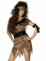 Fancy Dress Cavewoman Cave Girl Costume Size 8 - 22 Prehistoric CHOOSE YOUR SIZE