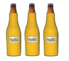 Pacifico Clara 3 Bottle Wrap Beer Coozie Coolie Koozie New