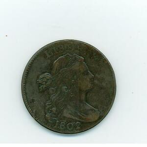 1802 Large Penny United States One Cent USA Coin